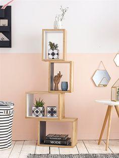 Cube bois par lot de 2, Cyrillus, Décoration, Blog mode femme & grossesse, Nantes