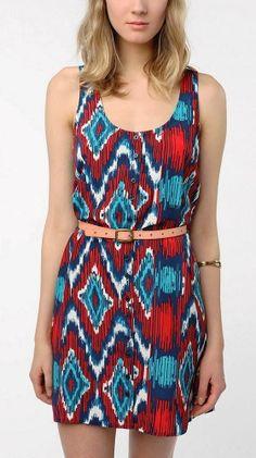 Dakota Jacinda Printed Dress