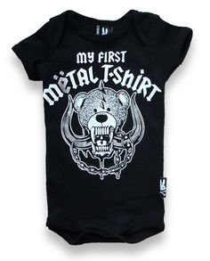 My First Metal Shirt Onesie