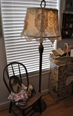Really do like this idea .. will keep my eye out for a really nice standing lamp base