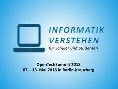 OpenTechSummit 2018 – 07. – 13.05.2018 in Berlin-Kreuzberg | Informatik Blog