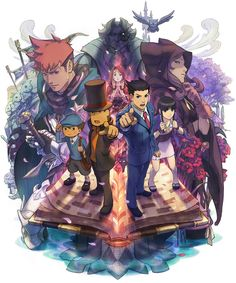 Box Art | Professor Layton vs. Phoenix Wright: Ace Attorney