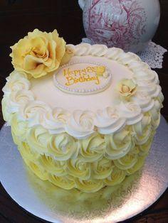 Birthday cake ideas for boys fondant 62 ideas Lemon Birthday Cakes, White Birthday Cakes, Birthday Party Tables, Happy Birthday Cake Topper, Birthday Cake Decorating, Cake Birthday, 21st Birthday, Birhday Cake, 10 Inch Cake
