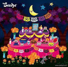 Feliz Dia de Muertos | Los Seedys celebramos este día honran… | Flickr