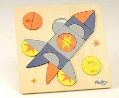 Juice Holiday Gift Guide: Spaceship multi-solution puzzle, $19.99, KangarooBoo.