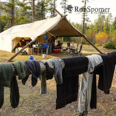 The comforts of elk camp.