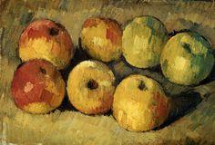 Apples, by Paul Cezanne.