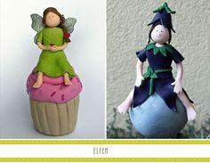 Elfen als Geschenk, Tortenfigur oder Rosenkugel Disney Princess, Disney Characters, Personalized Gifts, Elves, Disney Princesses, Disney Princes