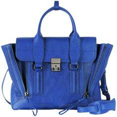 3.1 Phillip Lim Pashli Medium Satchel In Cobalt in Blue (cobalt)   Lyst
