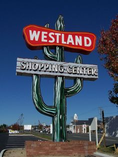 Westland Shopping Center, Richmond, VA (fact: one of my first jobs was in this shopping center)