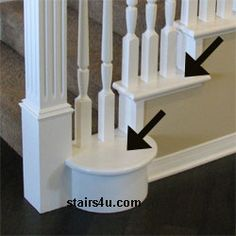 Exceptional False Tread   Wood Stair Step Finishing