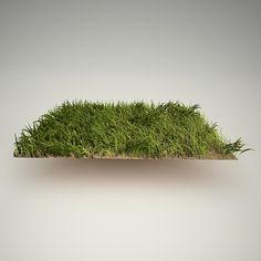grass free 3d model
