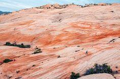 "Known as ""Utah's version of The Wave,"" Yant Flat is a geological wonder outside of St. George, Utah"