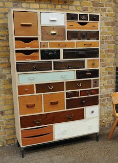 Styling and Salvage: 01 homemade furniture