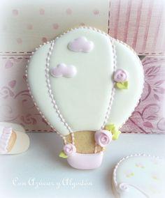 Galletas decoradas de bebé