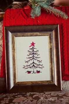 "https://flic.kr/p/bcE49H | Christmas Tree (""Stitch by Penny Black"")"