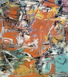 Willem de Kooning, Composition, 1955