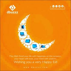May Allah flood your life with happiness on this occasion, your heart with love, your mind with wisdom. Wishing you a very Happy Eid .  Hashtags:- #Dbuzzz #eidmubarak #eid #bakraeid #culture #DigitalMarketingAgency Online Marketing Strategies, Email Marketing, Social Media Marketing, Creating A Business Plan, Business Planning, Best Digital Marketing Company, Happy Eid, Reputation Management, Seo Services