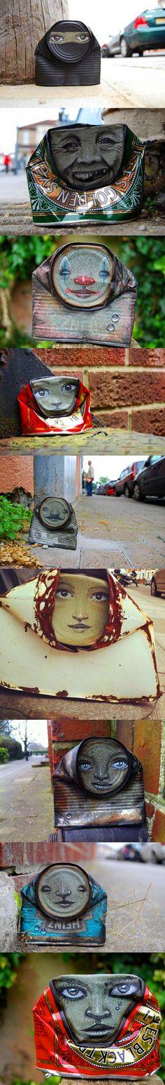 "Street art by ""My Dog Sighs"""