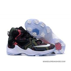 e7639823cf0 Nike LeBron 13 Kids Shoes Black History Month Basketball Shoes Cheap To Buy