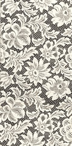 floral lace pattern swatch