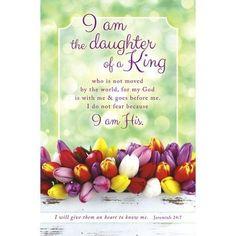 Daughter of a King (Jeremiah 24:7) Bulletins, 100