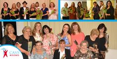Tres grupos de participantes mujeres en diferentes semanas del programa para bajar de peso y liberarse del estrés.