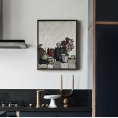 Wren Kitchen, Gallery Wall, In This Moment, Frame, Interiors, Instagram, Blue, Home Decor, Picture Frame