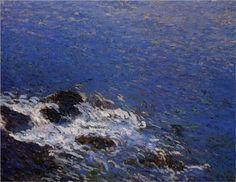 Henri-Jean Guillaume Martin (1860-1943)   Evening at Collioure