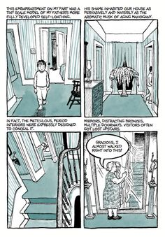 """Back in the fall, Matt Madden and Jessica Abel ran a graphic novel book club at the Brooklyn Public Library. These were really great discussions...The following is a transcription from our book group meeting on """"Fun Home"""", by Alison Bechdel."""