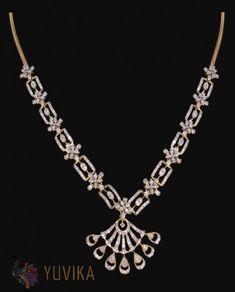 Real Diamond Necklace, Diamond Jewellery, Gold Pendant, Pendant Jewelry, Gold N, Mirror Mosaic, Fashion Jewelry, Chokers, Jewelry Design