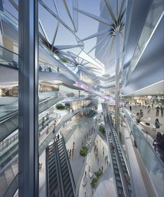 Gallery of Aedas Reveal Dynamic New Design For The Shenzhen Luoho Friendship Trading Centre - 3