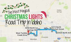 Travel | Idaho | Christmas Lights | Holidays | Things to Do | Family | Road Trip | Boise