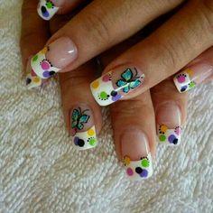 diseño de uñas CON MARIPOSAS - Buscar con Google