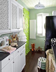 El perfecto cuarto de plancha [] The perfect laundry room