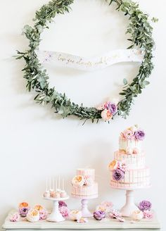 From floral cupcakes to blooming macaroons, we're rounding up the sweetest Spring-inspired desserts for your Big Day!