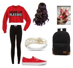 """""""#blessed"""" by kaylaweik ❤ liked on Polyvore featuring Vans and The Bradford Exchange"""