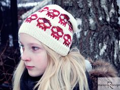 Ravelry: Skulles-lue barn/children pattern by Marion Rindsem