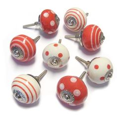 These sport themed cupboard door knobs are great for any sport ...