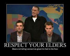 Respect Your Elders