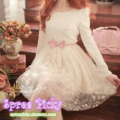 88e9807e4367f3 #spreepicky #ladydress #longsleevedress #chiffondress #lacedress #freeship  free size fit usually