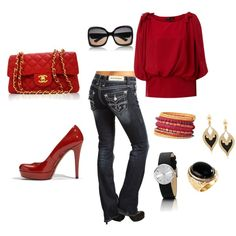 Love this, red is classic