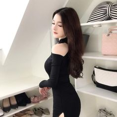 Gothic Chinese Style Cold Shoulder Bodycon Dress Goth Dress, Long Sleeve Mini Dress, Cheongsam, Chinese Style, Cold Shoulder, Bodycon Dress, Sexy, Renaissance, Unique