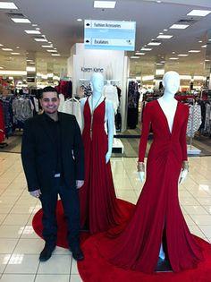 Michael Costello Red Dress