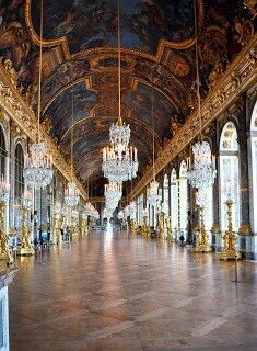 Versailles - I was overwhelmed by the opulence and extremeness of this palace.