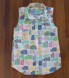 spoonflower swatch shirt by carolyn friedlander