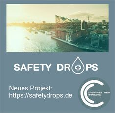 Projekt abgeschlossen ! Safetydrops ist Online ! Weather, Creative, Hamburg, Projects, Weather Crafts