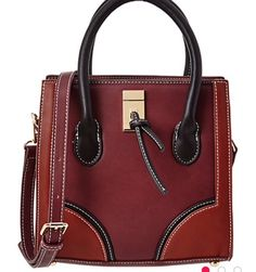 46410c9b50c9 Lionel Kalista mini crossbody bag  maroon  burgundy