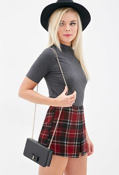 Faux Leather Bow Crossbody   Forever 21 - 1000117407