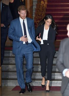 The Duchess And Meghan Markle Share A McQueen Moment